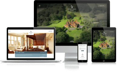 Wreahead Hall Country House Hotel website development used as an example of how there income was increased due to better SEO and user-ability. Also very successful Facebook Ads campaign