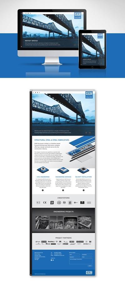 DAM-landing-page-design