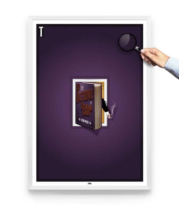 Dorian-gray-book-poster-design