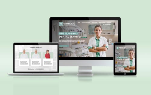 applegate-dental-website-design