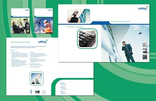 cellhire-brochure-design