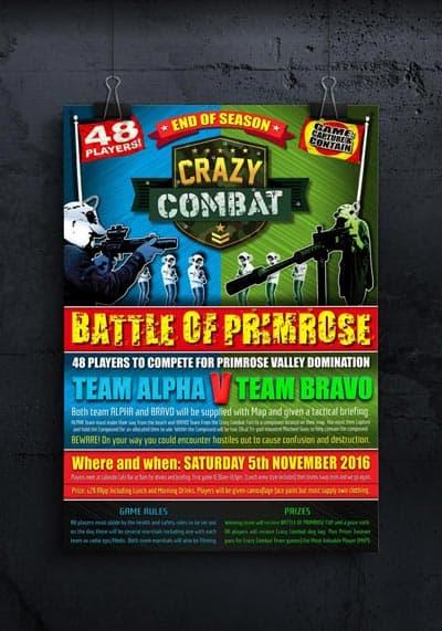 crazy-combat-poster-graphic-design