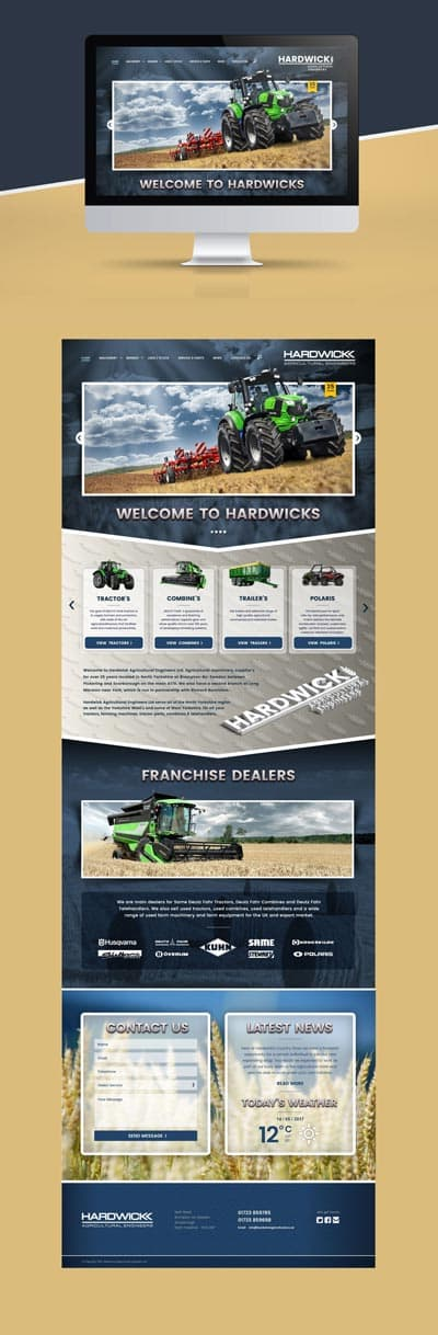 hardwicks-ecommerce-landing-page