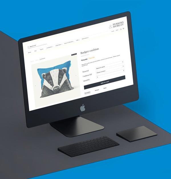 perkins-ecommerce-website