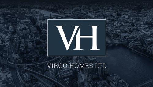 virgo-homes-logo-design