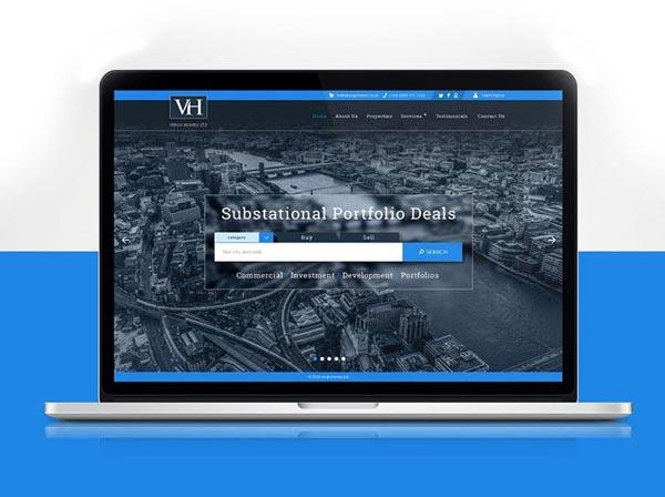 virgo-homes-web-development