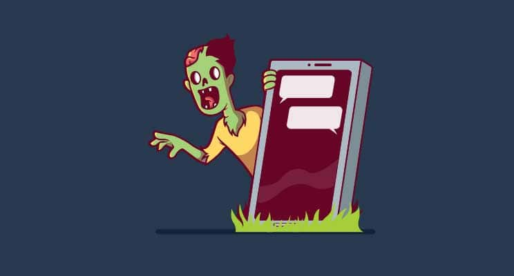 Social media can reach almost anyone (Maybe not the dead)